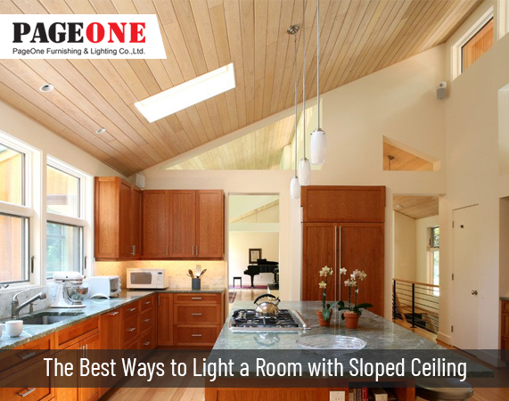 Lighting Solution For Sloped Ceilings