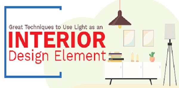 Great Techniques to Use Light as an Interior Design Element